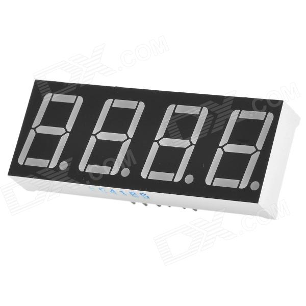0.56 4bit Common Anode Red LED Digital 7-Segment Display - Black + White запчасти для трансмиссии k07 k17