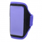 Protective Sport PVC + Neoprene Armband for LG Nexus 5 / E980 - Purple + Black