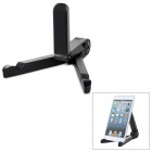 Universal Folding Desktop Tripod Stand for 7~10'' Tablet PC - Black