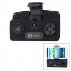 GAMESTOOL Wireless Bluetooth V3.0 + HS 12-Key Gaming Controller w/ Holder for Smart Phones - Black