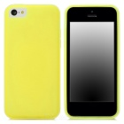 USAMS IP5CXMC06 Protective TPU + PC Case w/ Replacement Frames for Iphone 5C - Yellow