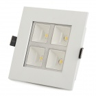 4W 280lm 4000K Warm White Light Ceiling Lamp (85~265V)