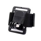 Sport Camera Wristband Mount for Gopro Hero 4/ 2 / Hero 3 / Hero 3+ / SJ4000 - Black