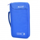Portable 1680D Fabric CD Storage Bag - Blue (Holds 60-CD)