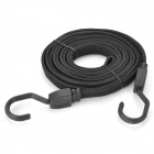 Elastic Rubber Vehicles Luggage Strap / Belt - Black (3m)
