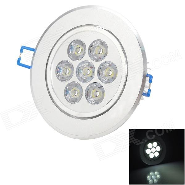 HESION HS02007 7W 730lm 6000K LED White Ceiling Light - Silver (85~265V) genius hs 300a silver