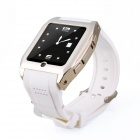 "1313 GSM Watch Phone w/ 1.55"" Screen, Bluetooth, Quad-Band, Java and FM - White + Silver"