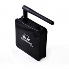 COZYSWAN Q200 Dual-Core Android 4.2.2 Google TV Player w / 1GB RAM / ROM 8GB / HDMI - Negro (enchufe de la UE)