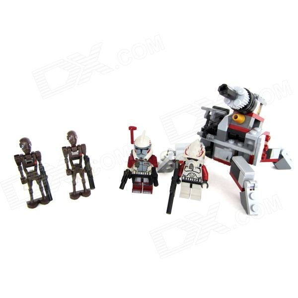 Genuine Lego Star Wars Clone Trooper Elite y Commando Droid Battle ...