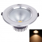 "ZIYU 7W 560lm 3500K Warm White Light 3.5"" Ceiling Lamp - White + Black + Silver (AC85-265V)"