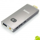 Jesurun NX004 Quad-Core Android 4.2 Google TV Player w / 2,0 MP-Kamera, Mic, Bluetooth - (EU-Stecker)