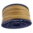 Heacent P00GR 3D Printers Dedicated 3mm Filament ABS Print Materials - Golden (1kg)