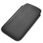 Protective PU Leather Pouch Bag for Samsung Galaxy S4 i9500 - Black