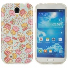 Cute Cartoon Patterned TPU Back Case for Samsung S4 i9500 - Multicolored