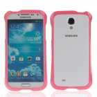 Newtop Protective Plastic Bumper for Samsung Galaxy S4 / i9500 - Deep Pink