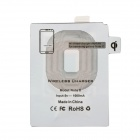 K8 QI Standard  Wireless Charger + Receiving Module for Samsung Galaxy Note 2- White + Yellow