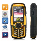 "ZUG1 Ultra-Rugged Waterproof GSM Cellphone w/ 2.0"" Capacitive, Dual-SIM - Orange + Black"