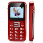"C30 Fashion GSM Bar Phone w/ 2.0"" Screen, Dual-SIM, Bluetooth and FM - Red + Black"