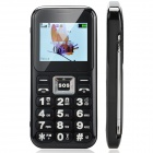 "C30 Fashion GSM Bar Phone w/ 2.0"" Screen, Dual-SIM, Bluetooth and FM - Black"
