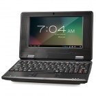 "WM8850-mid 6.98"" Screen Android 4.0 Netbook w/ Wi-Fi / RJ45 / Camera / HDMI / SD Card Slot - Black"