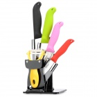 TJC TJC-0181 6-in-1 Kitchen Zirconia Ceramics Blade Knifes Set