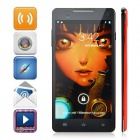 "S8 720p 5.9"" Quad-Core Android 4.2 WCDMA Phone w/ 1GB RAM, 16GB ROM, Camera, Wi-Fi - Black + Red"