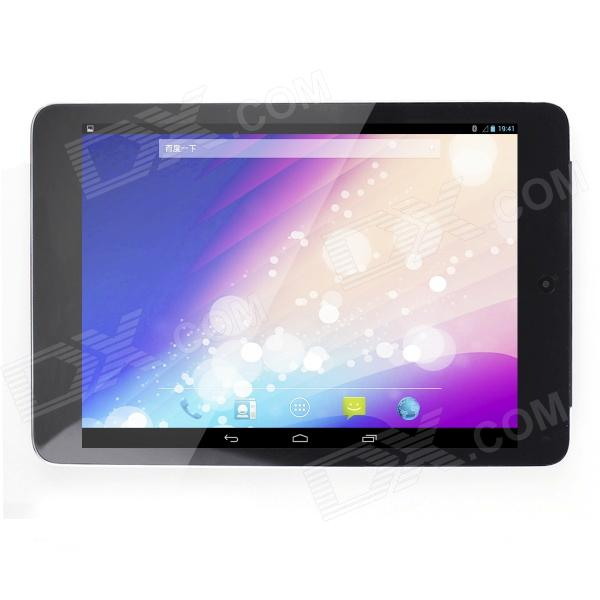 "BLUEING W78 7.85"" IPS Quad Core Android 4.2 3G Phone Tablet PC w/ 1GB RAM, 16GB ROM - Silver + Black"