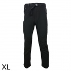 ARSUXEO 1213 Outdoor Camping Travel Men's Quick Drying Long Trousers - Black (Size XL)
