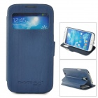 CHOICE-FUN CHOF-001 Protective PU Leather Case for Samsung Galaxy S4 i9500 - Dark Blue