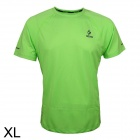 ARSUXEO T1301 Outdoor Sports Men's Breathable Quick-Drying Short T-Shirt - Green (Size XL)