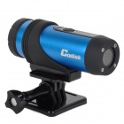 Codisk T90 Outdoor Sports Rechargeable 720P 3.0 MP CMOS Camera - Blue + Black