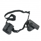 3-in-1 Holster + Magazine Clip + Gun Rope Set for 1911 Pistol - Black