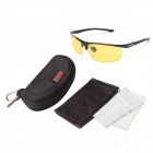 ReeDoon 8282 Professional Riding Polarized UV400 Protection Sunglasses - Yellow + Black