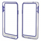 HD Protective Plastic Bumper Frame for Samsung Galaxy Note 3 - Blue + Transparent