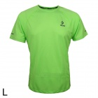 ARSUXEO T1301 Outdoor Sports Men's Breathable Quick-Drying Short T-Shirt - Green (Size L)