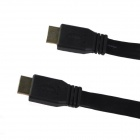 3-in-1 HDMI Male to Male Cable + HDMI Female to Micro HDMI / Mini HDMI Male Adapters - Black (153cm)