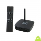 CS848 Dual-Core Android 4.1 Google TV Player w / 1GB RAM, 8GB ROM, HDMI, Wi-Fi, Bluetooth - Schwarz
