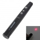 ABCNOVEL A181 Wireless 2.4GHz Remote Control Presenter - Black + Silver (1 x AAA)