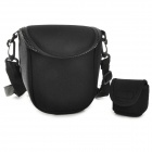 Neoprene DSLR Camera Cover Shoulder Bag for Nikon S1 V1 V2 J1J2J3 P510P520L310 L820 - Black