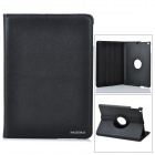 360 Degree Rotating Protective Flip Open PU Leather Case w/ Stand for Ipad 5 (Ipad AIR) - Black