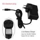 SingFire 3.5 x 1.35mm AU Plug Power Adapter Li-ion Battery Charger (116cm / AC 100~240V  DC4.2V)