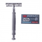 RIMEI Stainless Steel Manual Shaver Razor - Silver