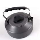 Outdoor Multifunction Aluminum Alloy Kettle Coffee Maker - Dark Grey (1.1L)