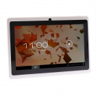"iRulu AK306 7"" Android 4.2.2 Tablet PC w/ 512MB RAM, 8GB ROM, Dual-Camera, Wi-Fi - White"