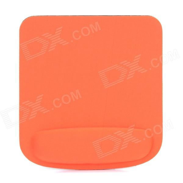 Stylish EVA + Fabric Mouse Mat Pad - Orange