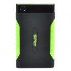 "SP A15 Anti-shock Portable 5Gb/s USB 3.0 2.5"" Hard Drive / HDD - Black + Green (1TB)"