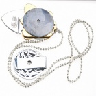 HX-D-26 Outdoor Multifunctional Necklace - Silver