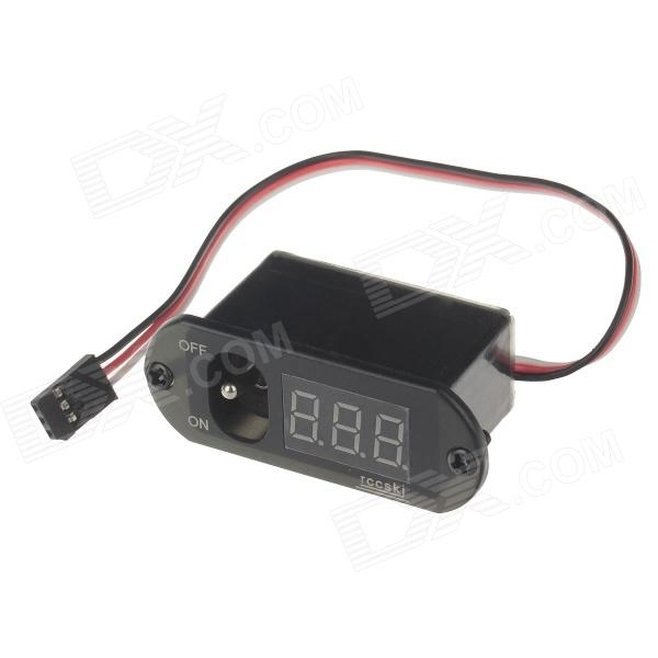 Rccskj 2105 Distribution Panel Switch Voltage Meter - Black lucky john fin 4 тр 60мм 41 блистер