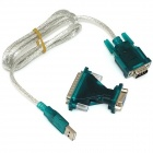 iTaSee IT232 USB to RS232 Serial DB9 9 PIN VISTA Cable Adapter