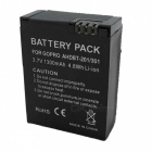 "Replacement ""1300mAh"" Battery for GoPro HERO 3 / HERO 3+ / GoPro AHDBT-201/AHDBT-301 Hero 3 - Black"